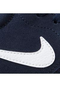 Niebieskie buty sportowe Nike z cholewką