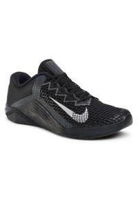 Czarne buty treningowe Nike z cholewką