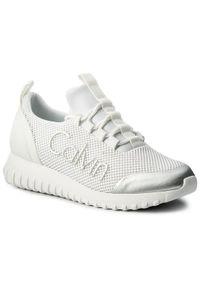 Białe buty sportowe Calvin Klein Jeans