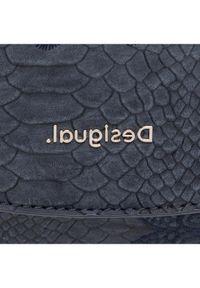 Desigual Torebka 21SAXPA1 Granatowy. Kolor: niebieski