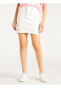 Biała spódnica mini Lee