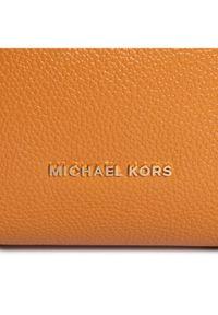 Pomarańczowa torebka worek Michael Kors