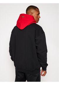 MSGM Bluza 2940MM176 207599 Czarny Regular Fit. Kolor: czarny