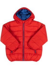 Primigi Kurtka puchowa 44101311 Czerwony Regular Fit. Kolor: czerwony. Materiał: puch