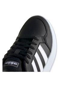 Adidas - Buty adidas Breaknet FX8708. Zapięcie: pasek. Materiał: guma, syntetyk, skóra. Szerokość cholewki: normalna. Sport: tenis