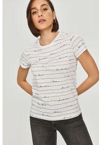 Biała bluzka Answear Lab na co dzień, wakacyjna