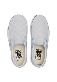 Vans Tenisówki Classic Slip-On VN0A33TB42Y1 Niebieski. Zapięcie: bez zapięcia. Kolor: niebieski. Model: Vans Classic