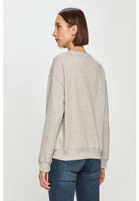 Pepe Jeans - Bluza Bonnie. Kolor: szary. Materiał: dzianina. Długość rękawa: długi rękaw. Długość: długie