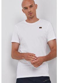 G-Star RAW - G-Star Raw - T-shirt bawełniany (2-pack). Okazja: na co dzień. Kolor: biały. Materiał: bawełna. Wzór: gładki, aplikacja. Styl: casual