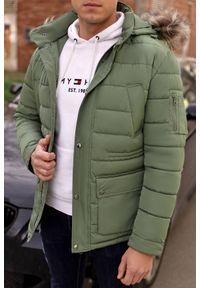 Brązowy płaszcz IVET na jesień