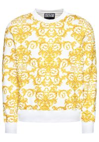 Versace Jeans Couture Bluza B7GWA7F2 Biały Regular Fit. Kolor: biały