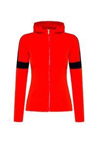 Czerwony sweter Fusalp sportowy