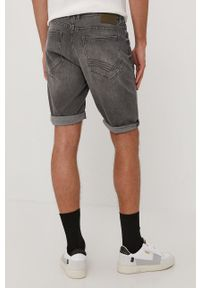 Tom Tailor - Szorty jeansowe. Kolor: szary. Materiał: jeans
