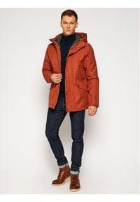 Pomarańczowa kurtka turystyczna Jack Wolfskin