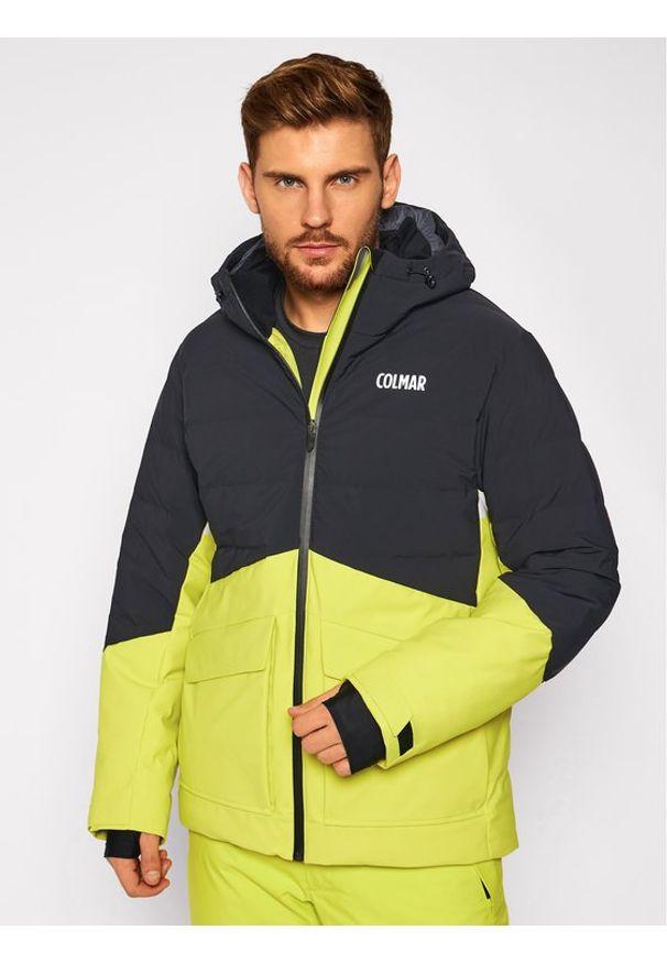 Colmar Kurtka narciarska 1061 7VC Żółty Regular Fit. Kolor: żółty. Sport: narciarstwo