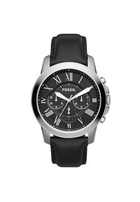 Czarny zegarek Fossil biznesowy