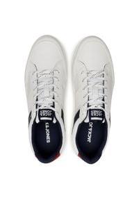 Jack & Jones - Sneakersy JACK&JONES - Jfwbyson 12181823 Bright White. Okazja: na co dzień. Kolor: biały. Materiał: skóra ekologiczna, materiał. Szerokość cholewki: normalna. Styl: casual #2