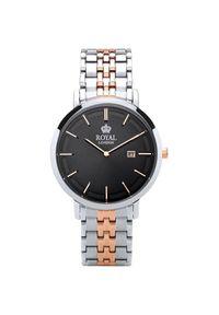 Czarny zegarek Royal London
