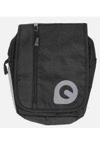 Casu - Czarna torba męska na ramię casu 0368. Kolor: czarny