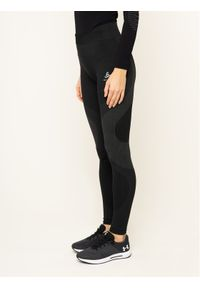 Czarne legginsy sportowe Odlo
