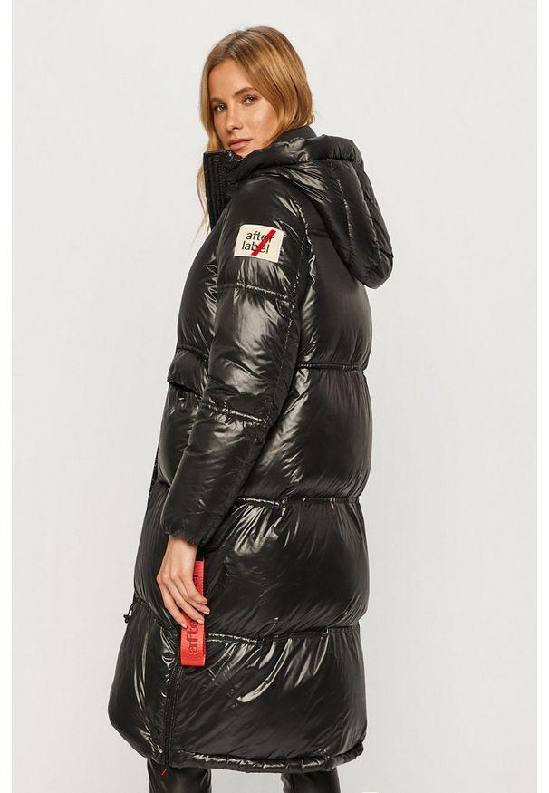 Czarna kurtka After Label casualowa, na co dzień, z kapturem