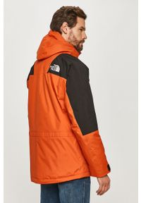 Pomarańczowa kurtka The North Face casualowa, z kapturem