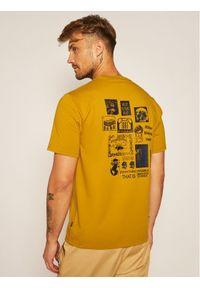 Converse T-Shirt 10019934-A03 Żółty Regular Fit. Kolor: żółty #6