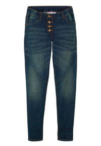 Czarne jeansy bonprix eleganckie