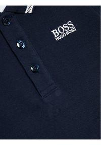 Niebieski t-shirt polo BOSS polo