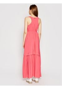 TwinSet Sukienka wieczorowa 211TT2168 Różowy Regular Fit. Kolor: różowy. Styl: wizytowy