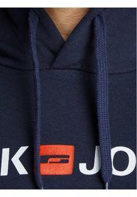 Jack & Jones - Jack&Jones Bluza Corp Old Logo 12137054 Granatowy Regular Fit. Kolor: niebieski