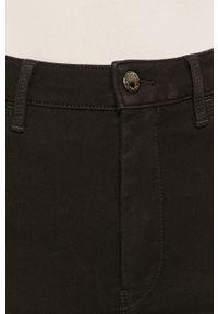 Czarne jeansy TOMMY HILFIGER gładkie