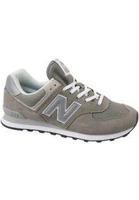 Szare sneakersy New Balance z cholewką