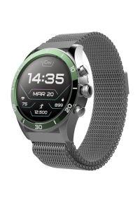 Zielony zegarek FOREVER casualowy, smartwatch