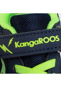 Niebieskie półbuty KangaRoos na co dzień, na rzepy, z cholewką