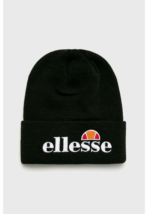Czarna czapka Ellesse