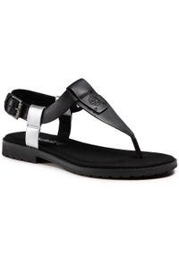 Czarne sandały Timberland