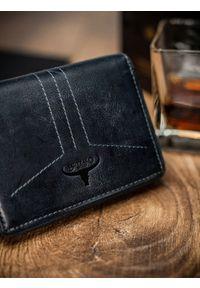 Niebieski portfel BUFFALO WILD