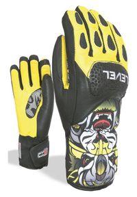 Level Rękawice narciarskie Jr Sq yellow. Sport: narciarstwo