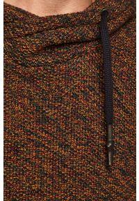 Wielokolorowy sweter medicine z golfem, retro #5