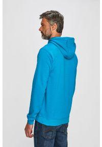 Niebieska bluza nierozpinana Fila na co dzień, casualowa, z nadrukiem