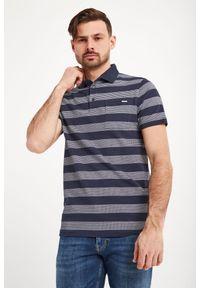 Koszulka polo Joop! Collection polo, sportowa, w jednolite wzory