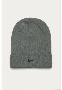 Szara czapka Nike Kids z aplikacjami