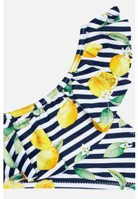 Żółty strój dwuczęściowy Mayoral z odpinanymi ramiączkami