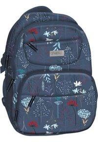 Starpak Plecak szkolny Meadow niebieski. Kolor: niebieski