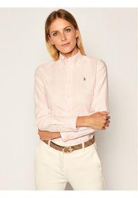 Różowa koszula Polo Ralph Lauren polo