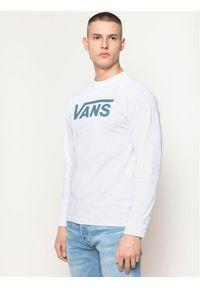 Szara koszulka z długim rękawem Vans
