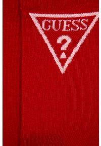 Czerwone skarpetki Guess Jeans