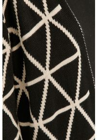 Beżowy sweter rozpinany Answear Lab z długim rękawem, wakacyjny