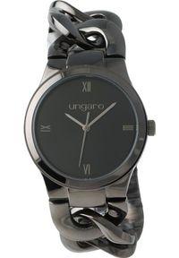 Czarny zegarek Ungaro
